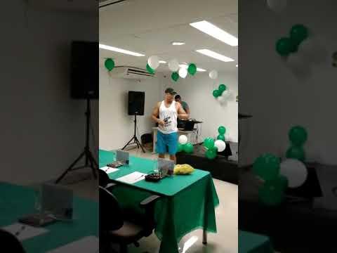 Aula de dança no trabalho hospital badim