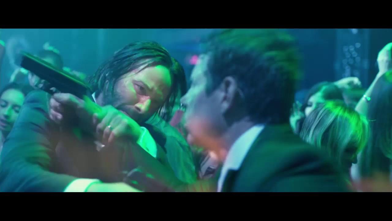 Fight Scene In Red Circle Night Club Hd