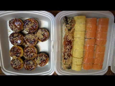 Доставка суши Имбирь роллы уфа отзывы от Vilimas TV