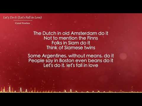 Let's Do It (Let's Fall in Love) - Conal Fowkes (Lyrics)