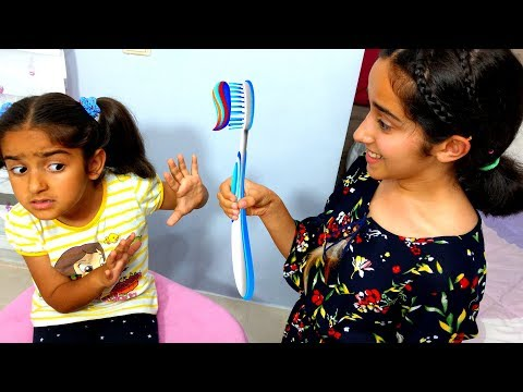 Esma Morning Routine Pretend Play fun kid video