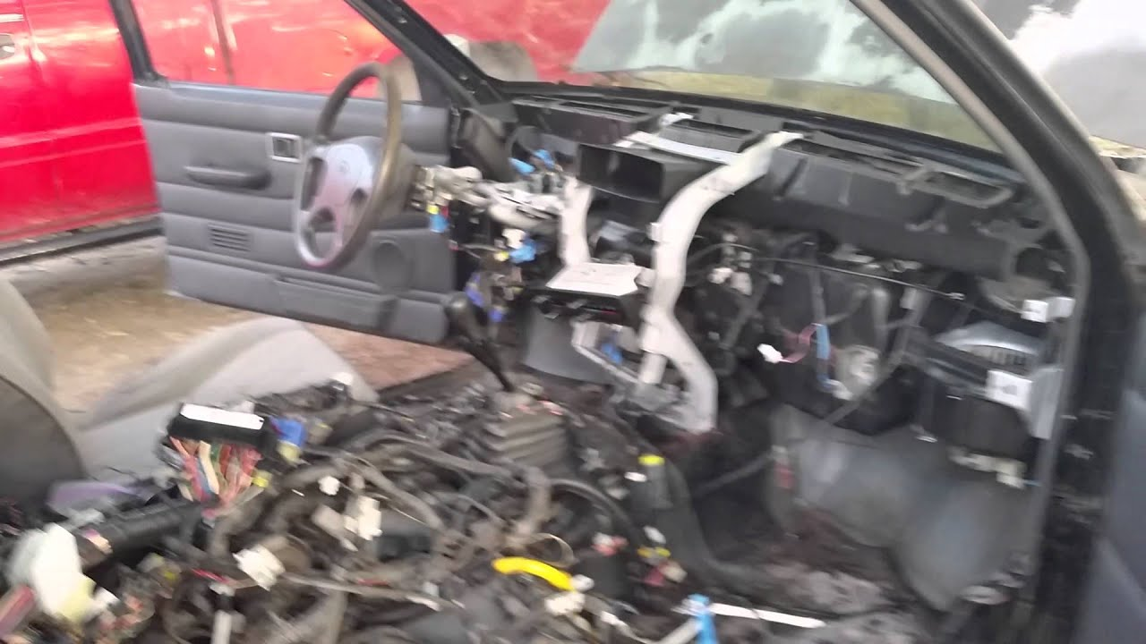 4x4 Nissan Hard wiring swap.... - YouTube