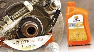 Repsol Moto 2T Jak skutecznie olej chroni silnik?
