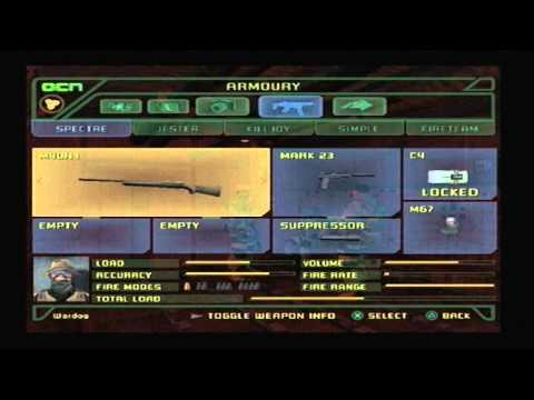 Socom 3 Playstation 2 :: Wardog's Unlocks