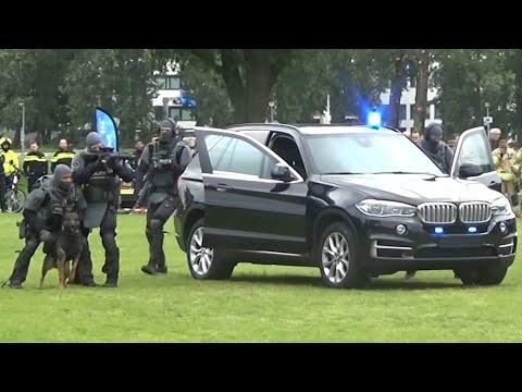 DSI opent vuurgevecht na achtervolging door Rotterdam, Arrestatieteam schiet op verdachten! [demo]