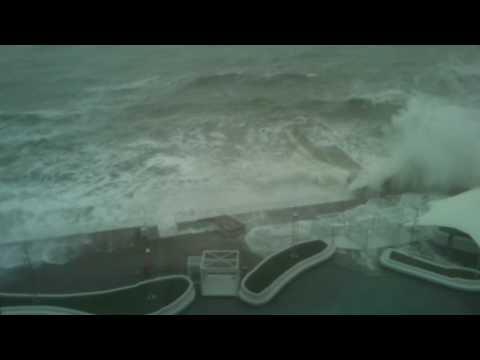 шторм в Одессе.