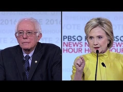 War on Wall Street or Wall Street's Wars? Clinton and Sanders Debate in Wisconsin