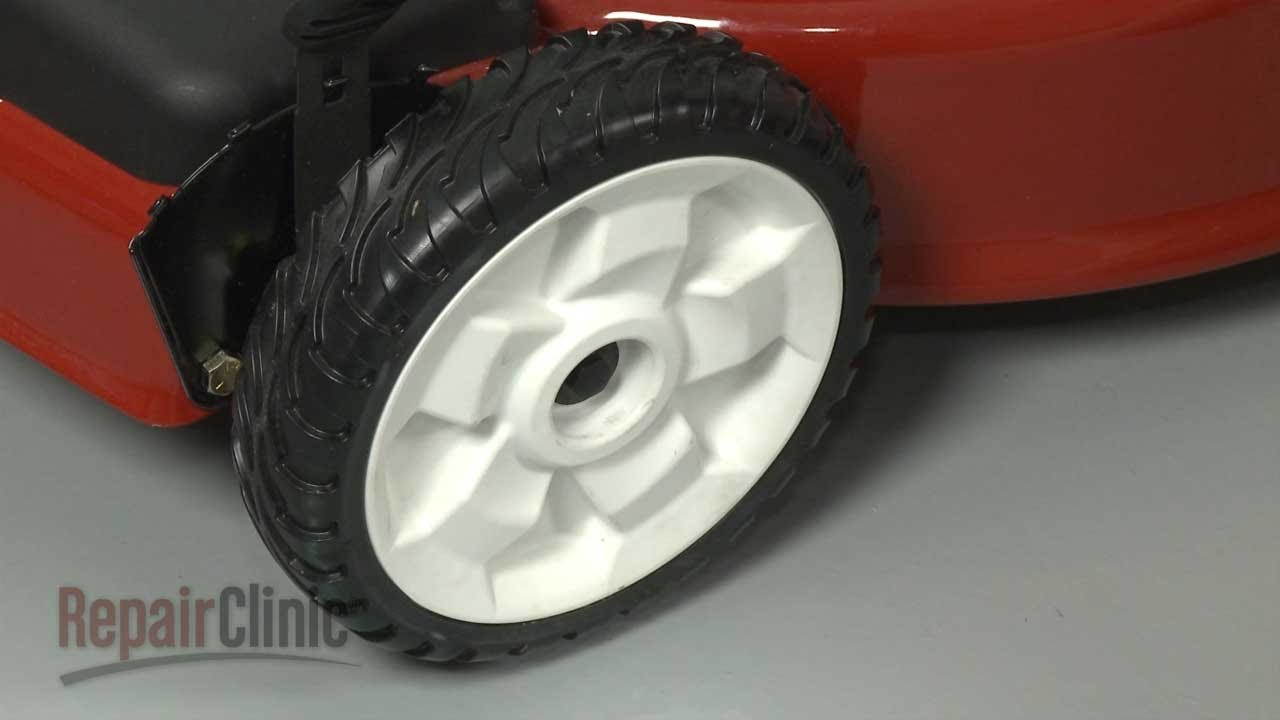Toro Lawn Mower Wheel Assembly Replacement 119 0311 Youtube