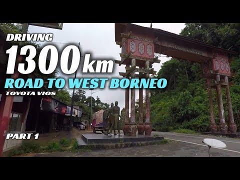 Driving 1300 Kilometre [road To Sintang West Borneo] Part 1