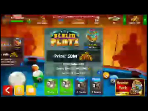 8 BALL POOL 100 MILLION 3 ACCOUNT AND UNLIMITED COIN GIVEAWAY ON YOUTUBE