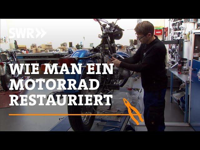 Wie man ein Motorrad restauriert | SWR Handwerkskunst