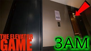 (GONE WRONG) PLAYING THE ELEVATOR GAME AT 3AM **She Found us**
