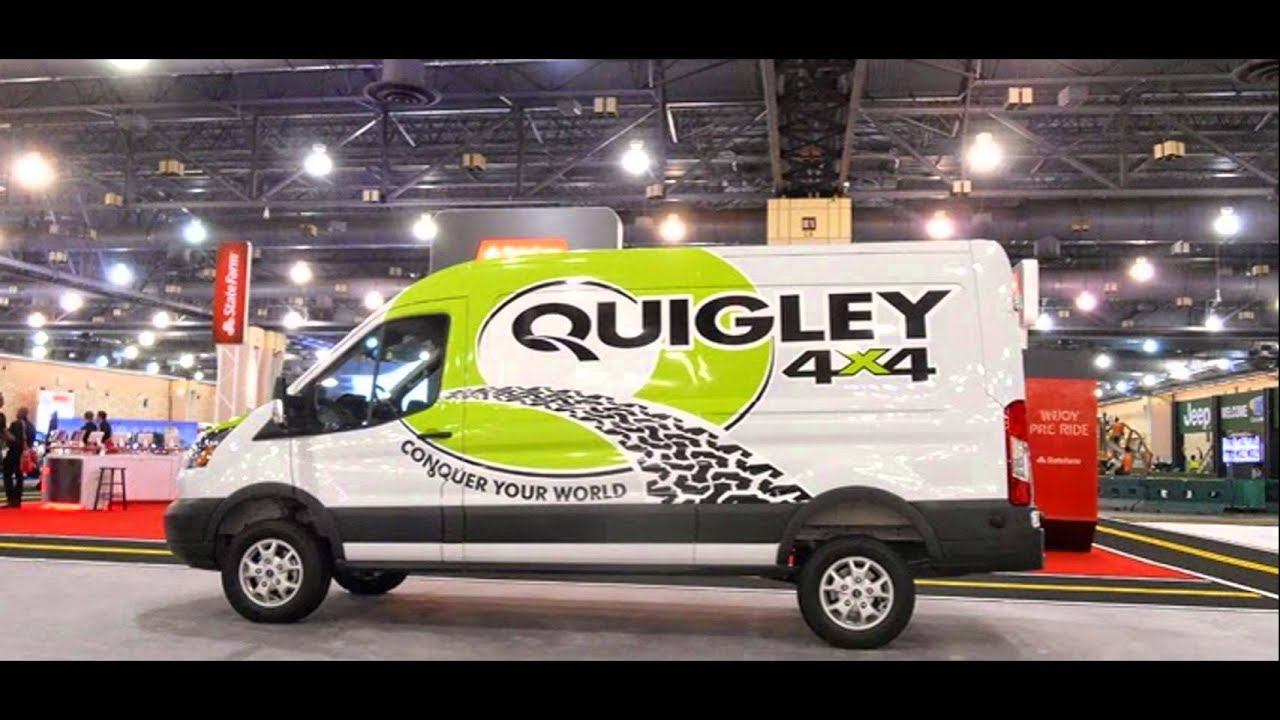 Quigley 4x4 On 2015 Ford Transit Youtube