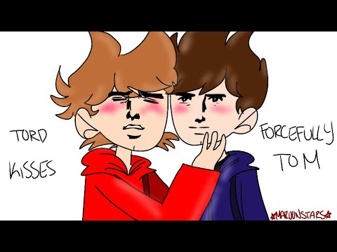 Tord forcefully kisses Tom (TomTord pfft)