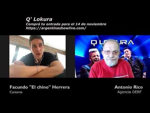 QLokura de streaming desde el Teatro Holiday en Argentina Show Live