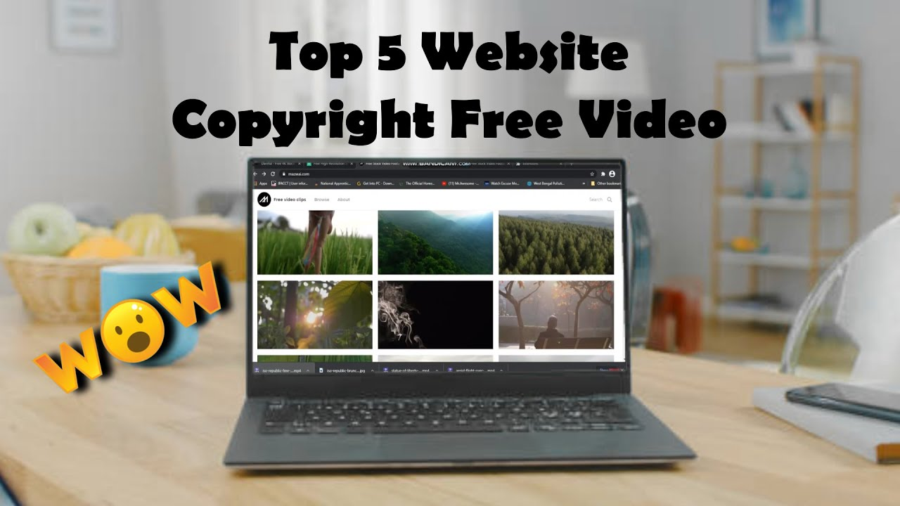Download TOP 5 Free Website 2021 for NO Copy-Right Videos | Download HD + 4K Quality  FOR YOUTUBE VIDEO