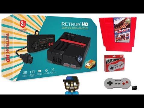 RETRON 1 HD - 500 IN 1 NES MULTI CART - UNBOXING - TEST