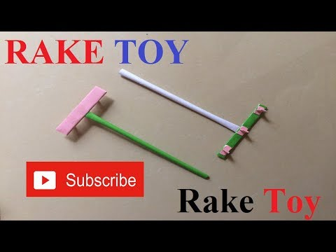 How To Make a Paper Rake | Origami Easy and Beautiful Paper Rake