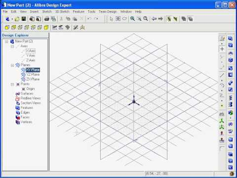 Alibre Design: Introduction to 3D Sketching