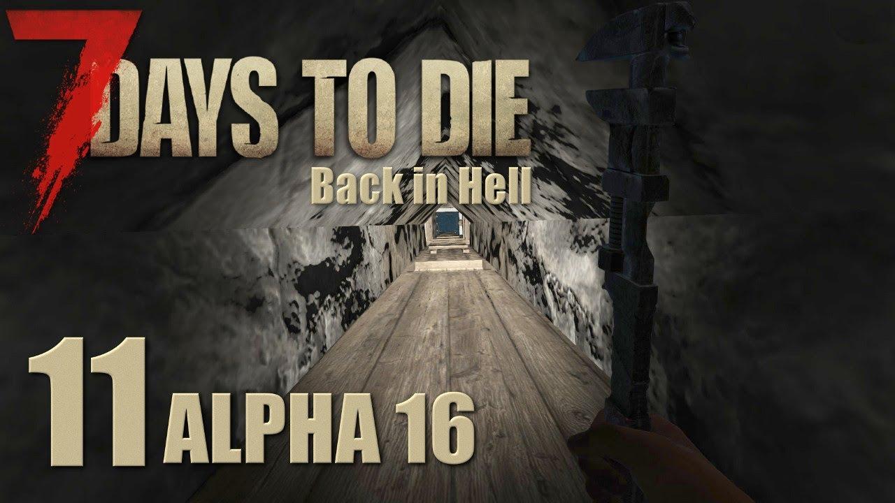 7 Days To Die Alpha 16 Solo | Part 11 Die Mine unter dem Haus ...