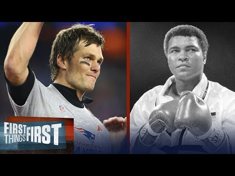From Tom Brady to Michael Jordan to Muhammad Ali, Cris Carter ranks the GOATS | FIRST THINGS FIRST