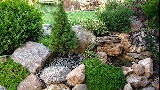 видео Альпийские горки на садовом участке