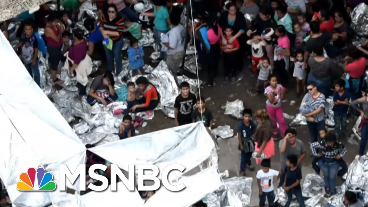 Living Conditions At A Migrant Detention Center Are 'Appalling' | Velshi & Ruhle | MSNBC