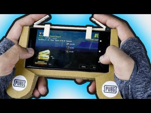 How To Make PUBG Gaming Controller For Mobile (L1 And R1)
