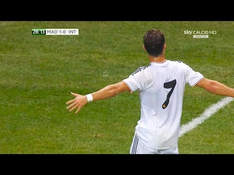 The Day Ronaldo Created His Trademark Celebration