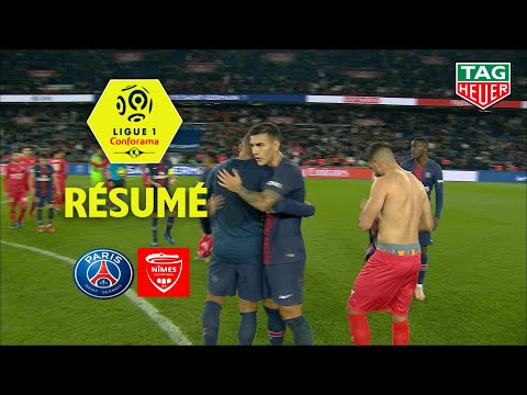 Paris Saint-Germain - Nîmes Olympique ( 3-0 ) - Résumé - (PARIS - NIMES) / 2018-19