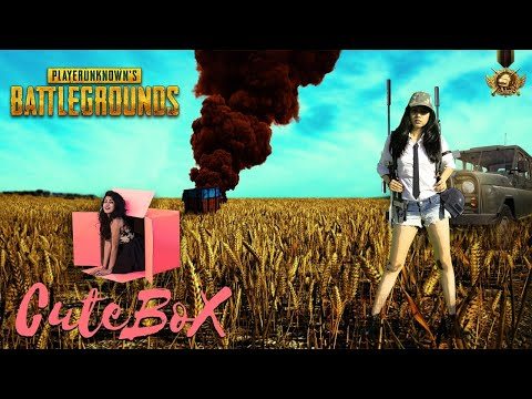 NOOB IS PLAYING😪 | CuteBox | Pooja Rathi | PUBG MOBILE