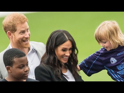 Meghan Markle Has the Cutest Interaction With a Young Royal Watcher in Ireland