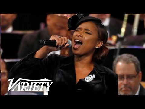 Jennifer Hudson Sings 'Amazing Grace' at Aretha Franklin's Memorial