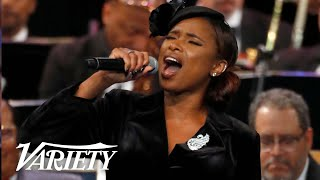 Baixar Jennifer Hudson Sings 'Amazing Grace' at Aretha Franklin's Memorial