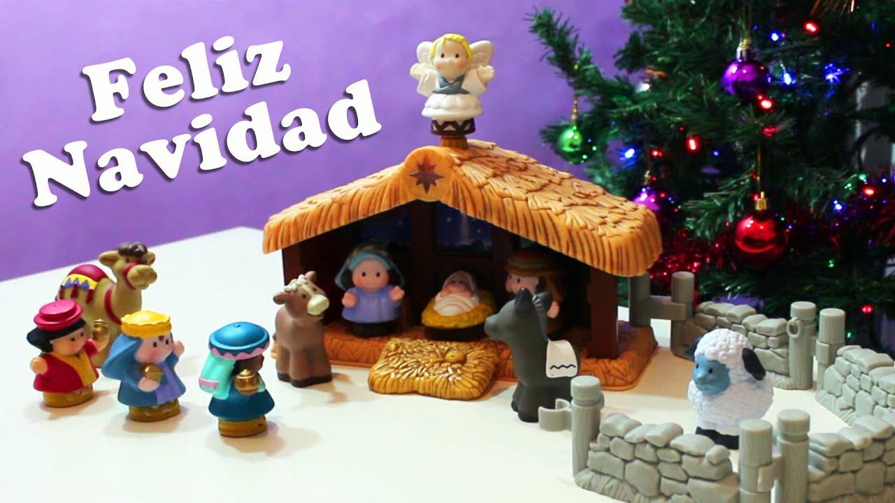 Feliz navidad especial portal de bel n nacimiento - Portal de belen pinypon ...