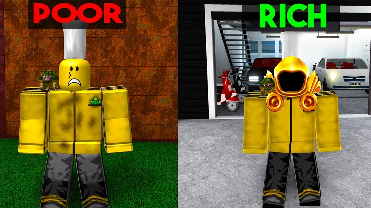 Poor To Rich Roblox Bloxburg Story Youtube