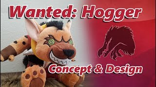Hogger Cosplay: Concept and Design Blizzcon 2017 #WantedHogger