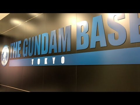 The Gundam Base Tokyo ガンダムベース東京 in Odaiba Full Tour | Tokyo, Japan【4K】