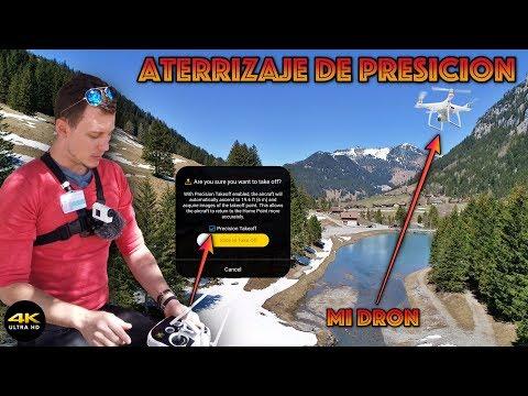 """Conoces El (Precision TakeOff) De Tu Dron? """"Phantom4 Pro"""" 4K/DronePilot"""
