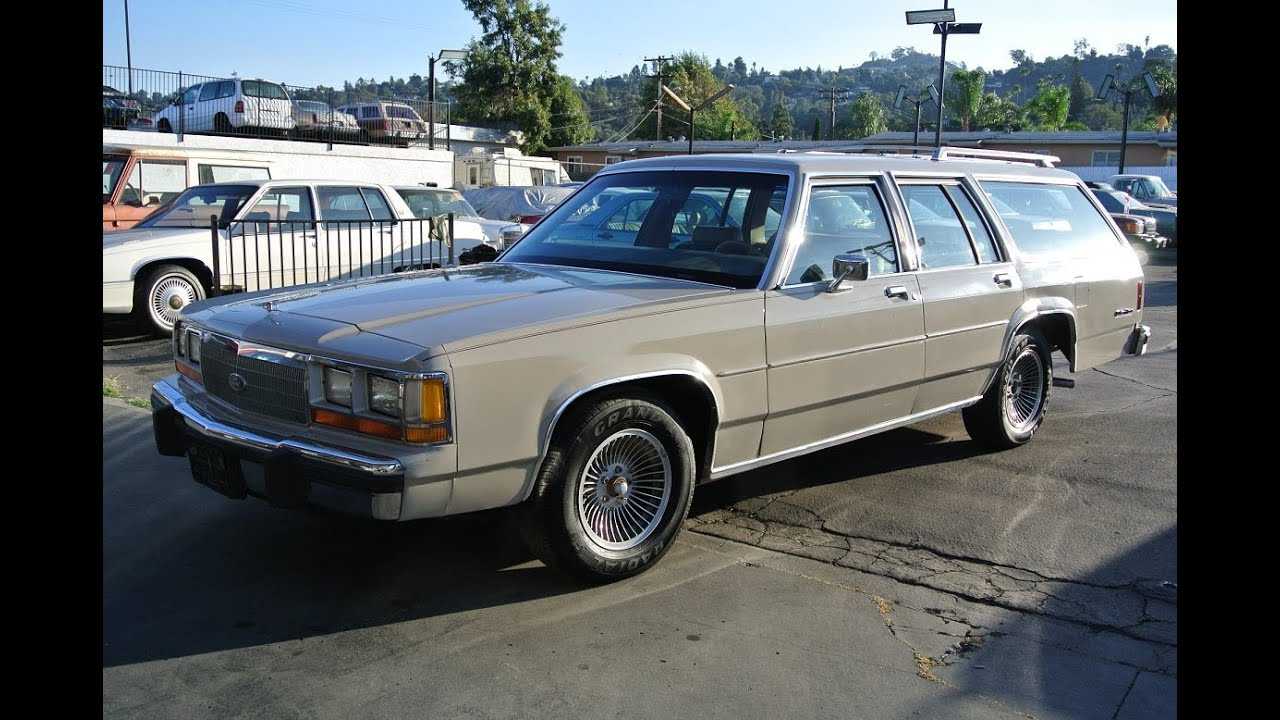 Ford Crown Victoria LTD Estate Wagon 1 Owner The Original Work ...