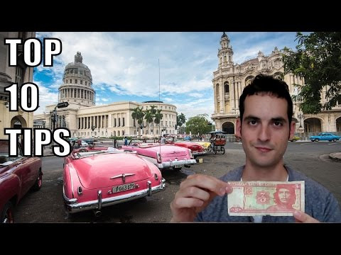 Top Ten Cuba Travel Tips 2017!
