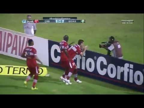 Melhores Momentos - CRB 2 x 1 Goiás - Campeonato Brasileiro Série B 2016