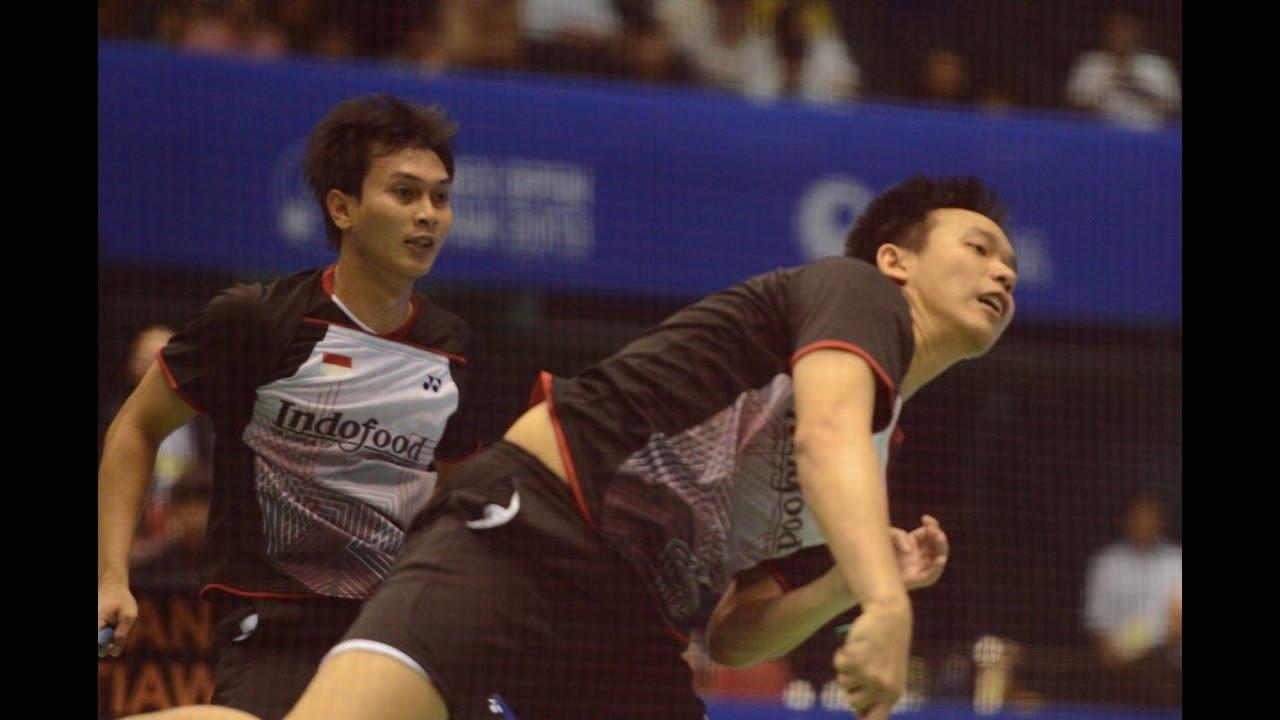 Mohammad AhsanムHendra Setiawan INA vs Jun KangムCheng Liu CHN