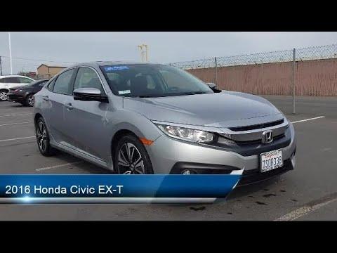 2016 Honda Civic EX-T Modesto Turlock Stockton Manteca Oakdale