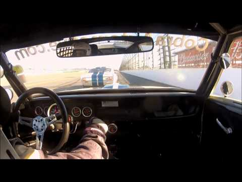 Daytona Historics Qualifying Race 2012: Curt Vogt #530 Shelby GT350