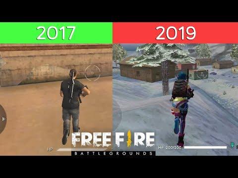 พัฒนาการของเกม FreeFire 2017 - ปัจจุบัน