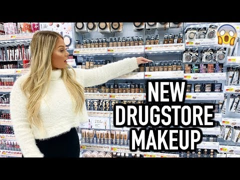 TESTING NEW DRUGSTORE MAKEUP FROM WALMART | KELLY STRACK thumbnail