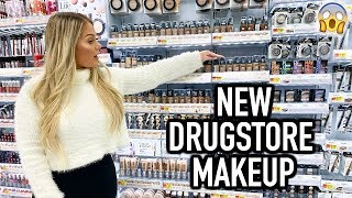 TESTING NEW DRUGSTORE MAKEUP FROM WALMART | KELLY STRACK