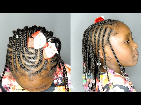 Cornrows For Back To School Hairstyles Youtube