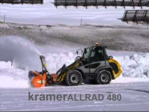 kramer radlader 350 winterdienst youtube. Black Bedroom Furniture Sets. Home Design Ideas